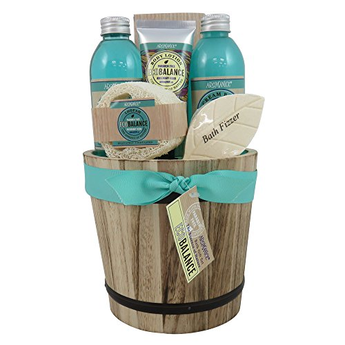 Hot Pot bilancio ecologico in legno - 6 Camere - fiori di peonia e patchouli - scatola regalo, regalo per le donne