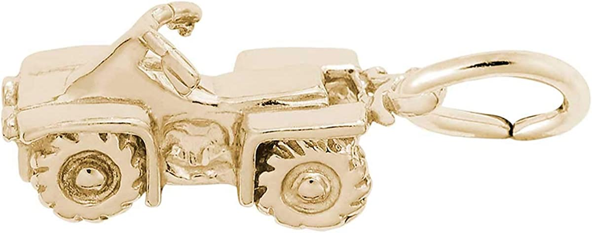 OFFicial Rembrandt Charms A.T.V. Sale item Charm 10K Yellow Gold
