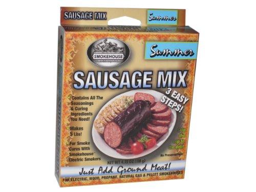 Smokehouse Products été Saucisse Assaisonnement, 10-Pack
