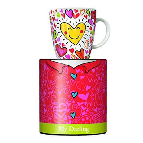 Ritzenhoff My Darling Kaffeebecher, Porzellan, Bunt