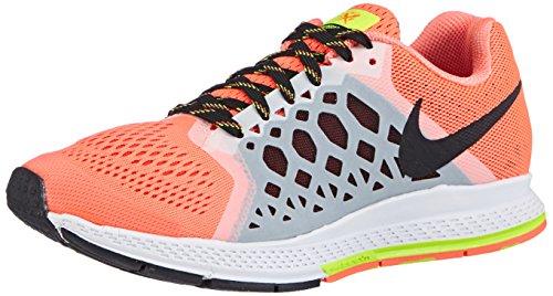 Nike Wmns Air Zoom Pegasus 31, Zapatillas Mujer, Hypr Orng/Blk-Vlt-Brght Crmsn, 36.5