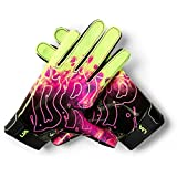Under Armour Boys' F7 Youth Limited Edition Football Gloves , Black (001)/X-Ray , Youth Small