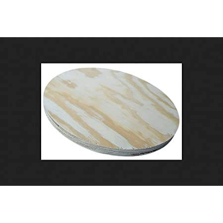 American Wood Round Plywood For Round Table Tops 11 3 4 X 3 4 Amazon Com