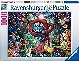 Ravensburger Puzzle 1000 Piezas, Ilustración Alicia en el País de las Maravillas, Colección Fantasy, Rompecabezas Ravensburger de Alta Calidad, Jigsaw Puzzle para Adultos