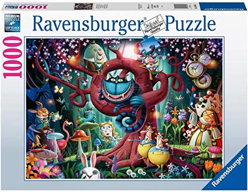 Ravensburger Puzzle 1000 Pezzi, Tutti sono Pazzi Qui, Collezione Fantasy, Jigsaw Puzzle per Adulti, Puzzle Ravensburger - Stampa di Alta Qualità
