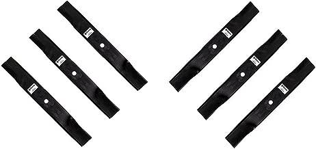 MowerPartsGroup (6) Blades Fits Hustler 54