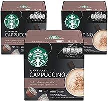 STARBUCKS Cappuccino by NESCAFÉ Dolce Gusto Coffee (3X12 Capsules)