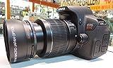 TELEPHOTO Zoom Lens for Canon EOS Rebel EOS 7D, 60D, EOS Rebel SL1, T1i, T2i, T3, T3i, T4i, T5i, XS, XSi, XT, XTi