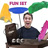 Zeekio Josh Horton Juggling Fun Set - Great for Beginners - for Kids or Adults!