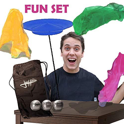 Zeekio Josh Horton Juggling Fun Set - Great for Beginners - for Kids or Adults!
