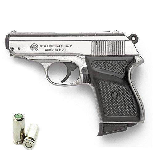 BRUNI Pistola a Salve Walther PPK New Police Cal.8 | Top Firing | Matt Nikel
