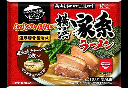 キンレイ お水がいらない 横浜家系ラーメン456g(めん 170g)×12袋