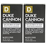 Duke Cannon Big Brick of Soap for Men - Smells Like Accomplishment, 10oz (Pack of 2)