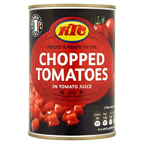 KTC Chopped Tomatoes in Tomato Juice, 400g