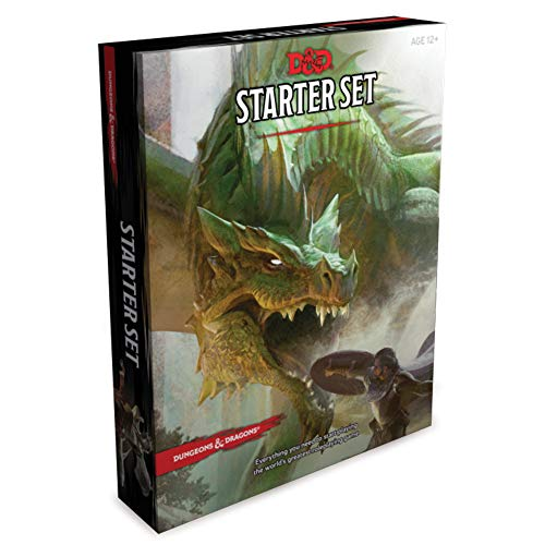 Dungeons & Dragons Starter Set (Six Dice, Five Ready-To-Play D&d Characters with...