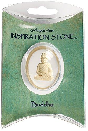 AngelStar 1-1/2-Inch Angel Worry Stone, Buddha