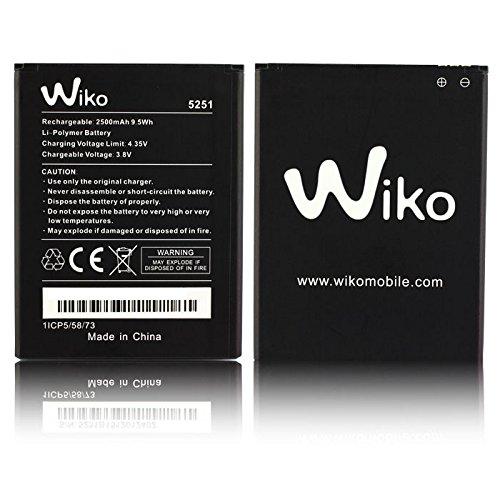 Batterie original Wiko 5251Für Rainbow Jam 4G 2500mAh Li-Ion Bulk