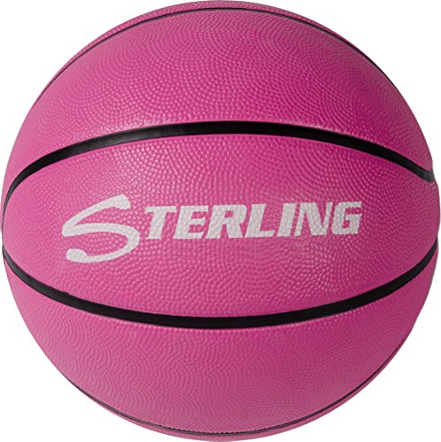 Amazing Deal Sterling Premium Superior Grip Pink Official Size 7 Rubber Basketball