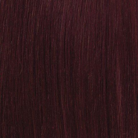 American Dream original de qualité 100% 50,8 cm soyeuse droite trame de cheveux humains Couleur K633 – Rouge Chocolat