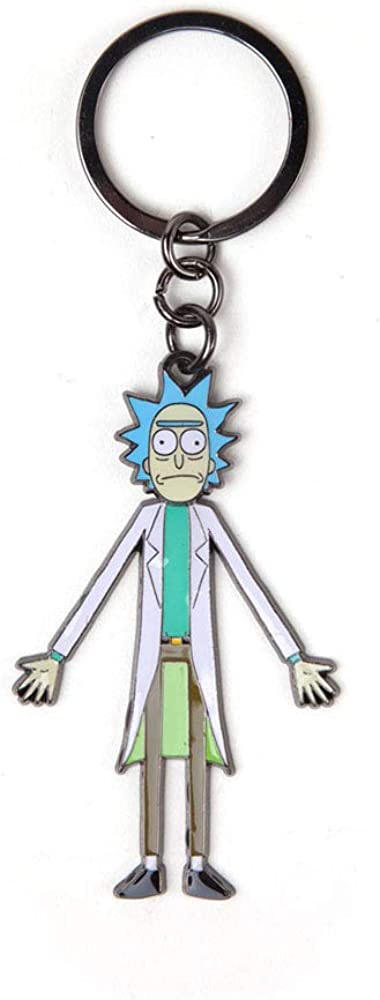 RICK AND MORTY unisex-adult Keyring