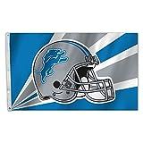 NFL Detroit Lions 3 by 5 Foot Flag