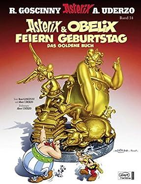 Asterix 34. Asterix & Obelix feiern Geburtstag (German Edition)