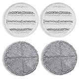 Fransande - Lote de 4 sellos de vadroóxido eléctrico para tampón de depurador de GOBOT para la limpieza del polvo de madera, Franco de cocina en casa