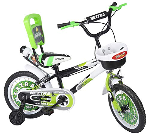 Speed bird cycle industries Sports 14 T Baby Cycle for Boys and Girls with Water Bottle (3-6 Years, Green)