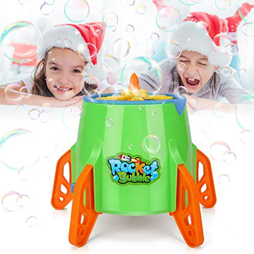 Bubble Machine,Automatic Bubble Machine for Kids,5000 Bubbles Per Minute Bubble Blower for Kids Toddlers Indoor/Outdoor Automatic Bubble Maker for Parties Birthdays (Bubble SolutionsNot Included)