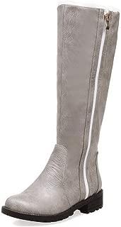 BalaMasa Womens ABS14181 Pu Boots