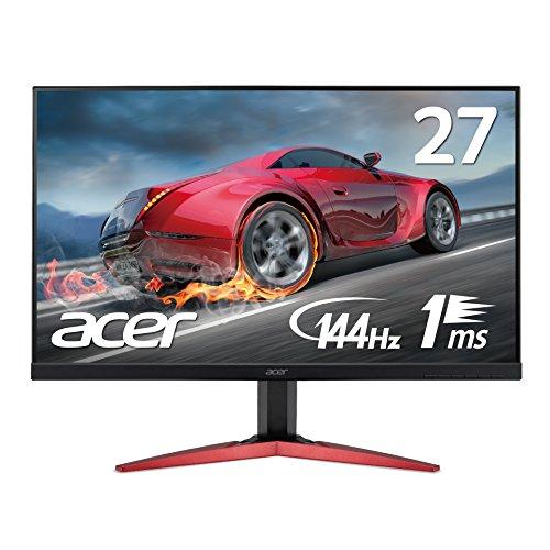 Acer ゲーミングモニターディスプレイ KG271Cbmidpx  27インチ 144Hz/応答速度1ms/TN/非光沢/Free Sync/フ...