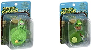 My Singing Monsters Baby Furcorn Collectible Figure with Egg Bundle Baby Potbelly Collectible Figure with Egg