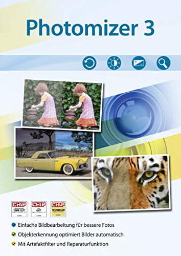 Photomizer 3 Standard Bildbearbeitung - Optimieren von Digitalen Fotos Helligkeit, Kontrast Windows 10, 8.1, 7, Vista