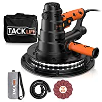 TACKLIFE Lijadora de Pared 800W con Sistema d