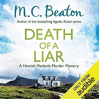 Death of a Liar cover art