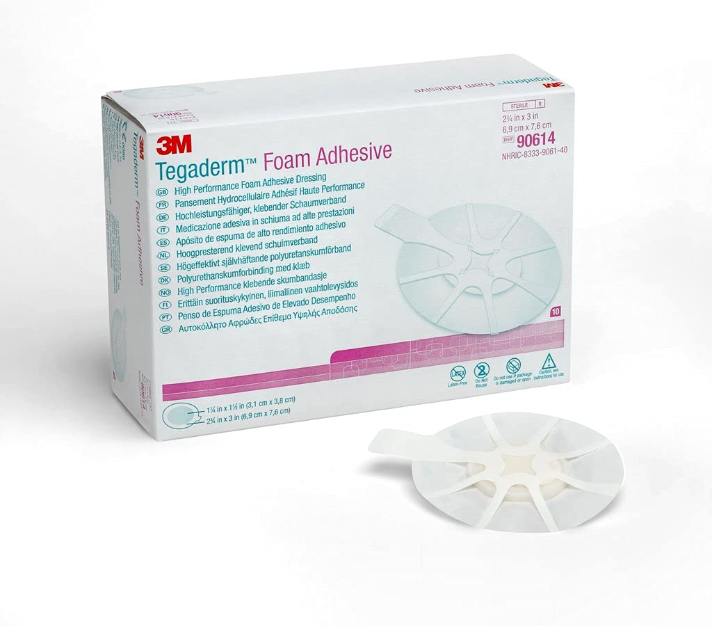 3M 90614 Tegaderm High free shipping Performance Dressing Adhesive Foam trust Mini