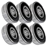 (6 Pack) HD Switch Blade Spindle Bearings...