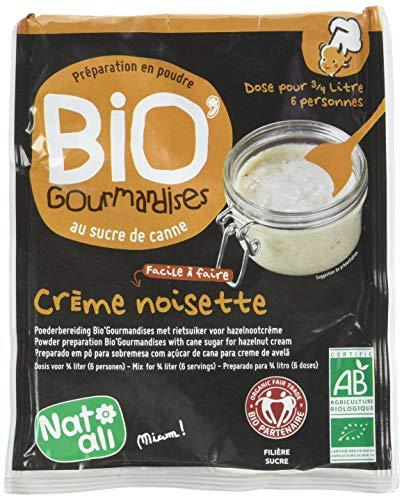 Nat-Ali Bio'Gourmandise Crème Noisettes 60 g - Lot de 6