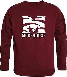 Morehouse Maroon Tigers NCAA Mens College Crewneck Fleece Sweatshirt