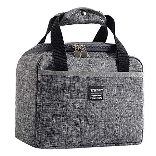 Paquet de déjeuner, sac isotherme souple pour boîte à lunch isotherme sac à lunch bento pique-nique pour école de travail thermique étanche