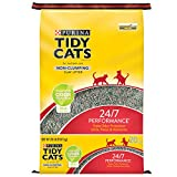 Purina Tidy Cats Non Clumping Cat Litter, 24/7 Performance Multi Cat Litter - 20 lb. Bag