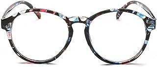 Fulision Student Myopia Glasses Fashion Retro Big-Frame Glasses Round Face