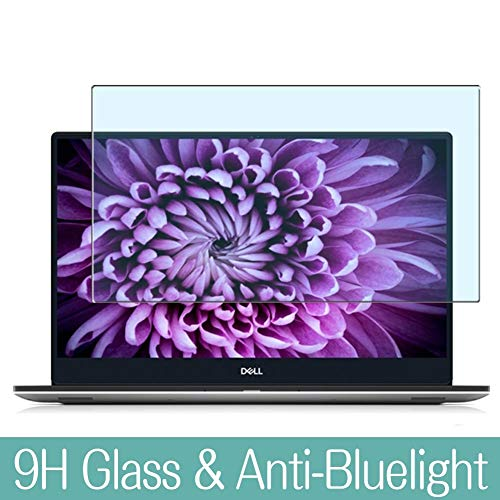 Synvy Anti Blue Light Tempered Glass Screen Protector for Dell XPS 15 7000 (7590) 15.6' Visible Area 9H Protective Screen Film Protectors