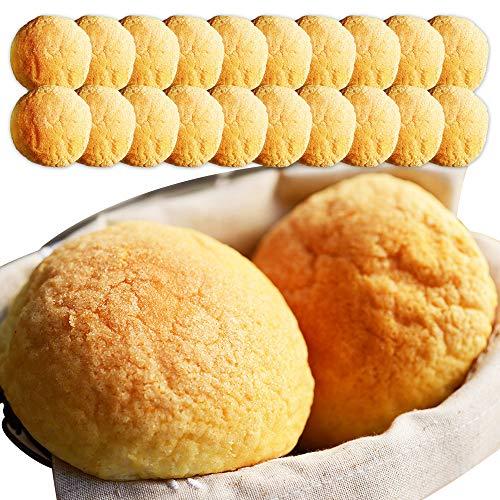 牛乳 メロンパン 20個 セット 北海道産 牛乳 100% 小麦粉 生クリーム 使用 北海道 北国からの贈り物