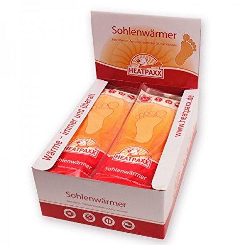 HeatPaxx Sohlenwärmer | 30 Paar | EXTRA WARM | Wärmesohlen - Fußwärmer | für daheim & unterwegs | rein natürlich und sofort einsatzbereit (30)