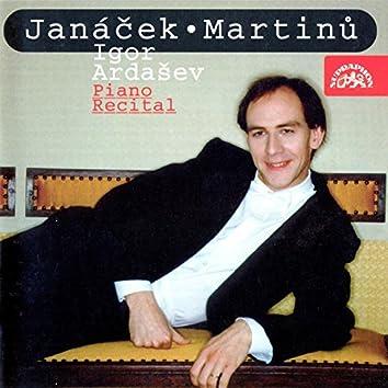 Janáček, Martinů: Piano Recital