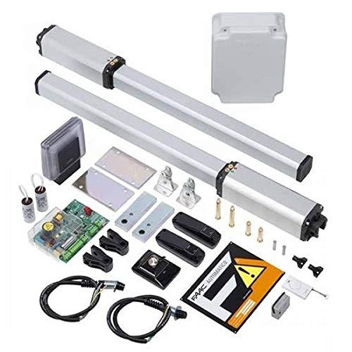 Kit automático para puerta batiente FAAC LEADER FAAC 10563344 eléctrico hidráulico +...