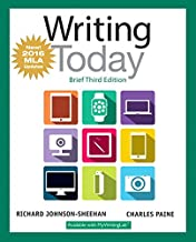 Writing Today, Brief Edition, MLA Update Edition (3rd Edition)