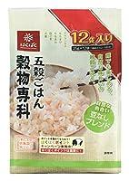 はくばく ひと炊き 穀物専科 五穀 25g×12P ×3セット