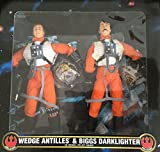 Desconocido 30,5 cm (12 Pulgadas) Wedge Antilles y Biggs Darklighter 2-Pack (FAO) [Importado de...